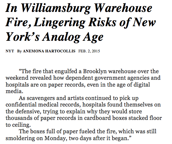 NYT article 3 - analong warehouse BETTER VERSION